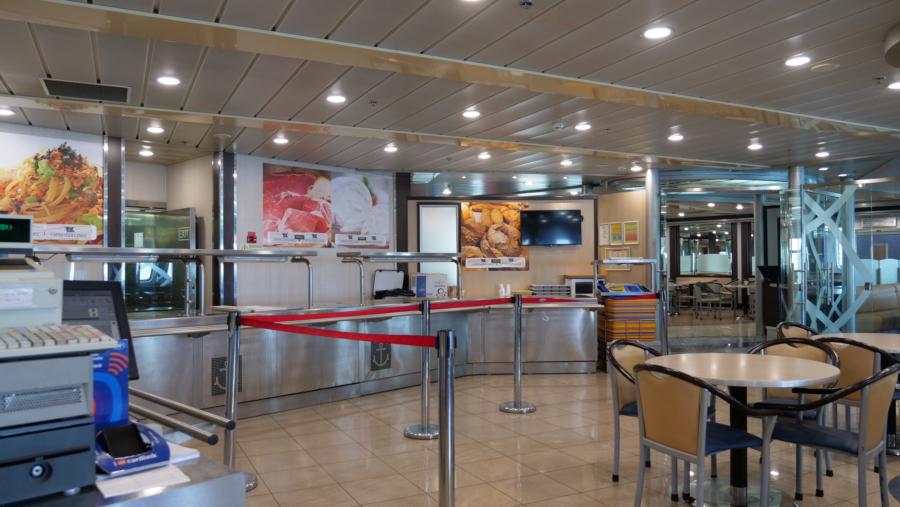 Passenger/Ro-Ro Corfu Restaurant self service