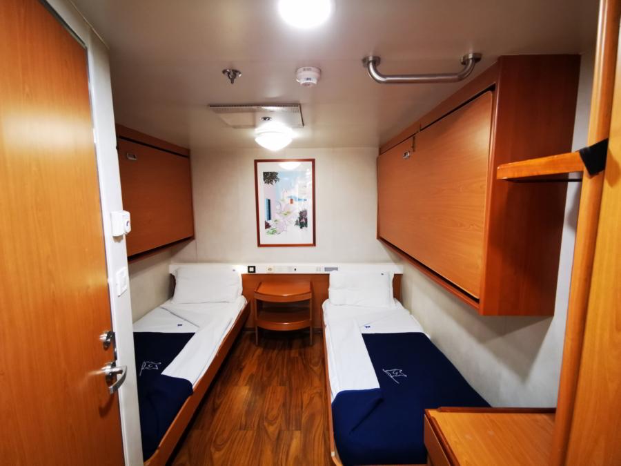 Passenger/Ro-Ro Zeus Palace 2Bed inside cabin
