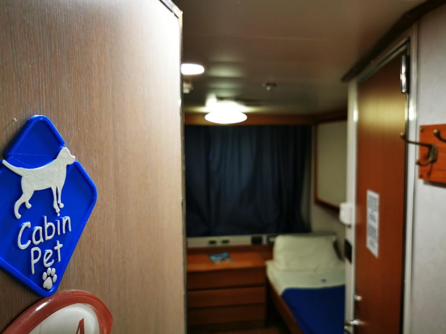 Passenger/Ro-Ro Zeus Palace Pet cabin