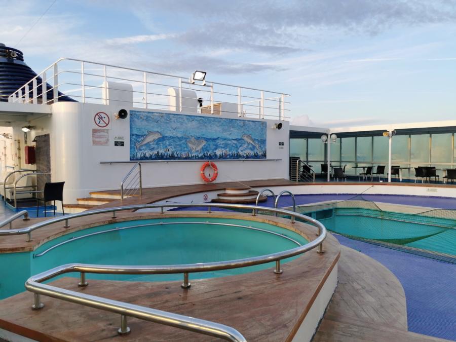 Passenger/Ro-Ro Zeus Palace Swimming Pool