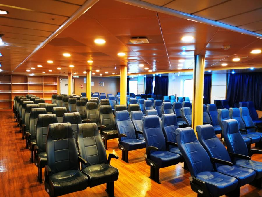 Passenger/Ro-Ro Zeus Palace Air Type Seats