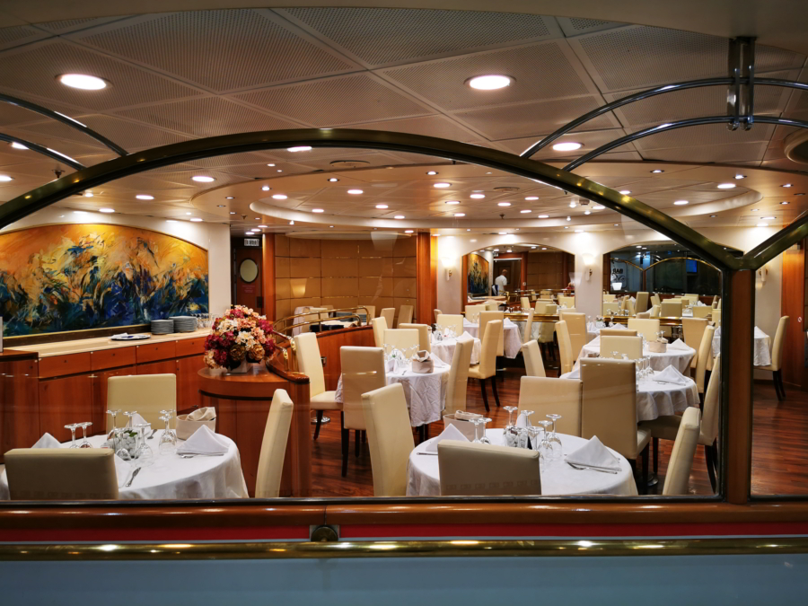 Passenger/Ro-Ro Zeus Palace Restaurant self service