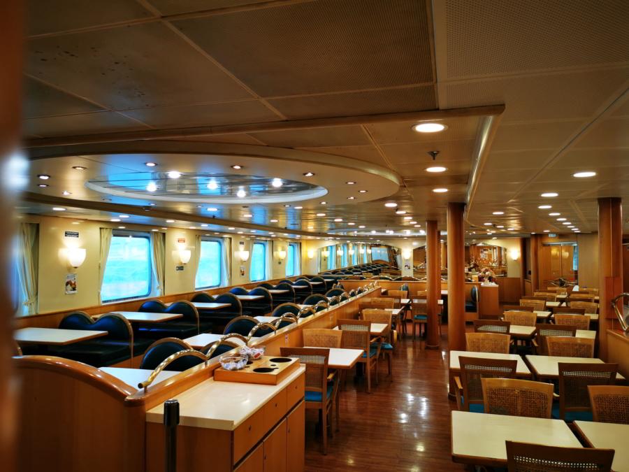 Passenger/Ro-Ro Zeus Palace Restaurant a la carte