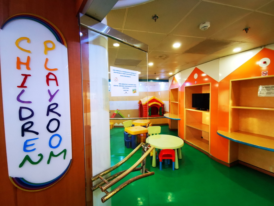 Passenger/Ro-Ro Zeus Palace Children Playroom