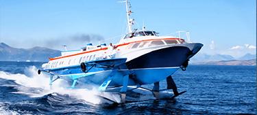 Passenger Hydrofoil Santa -Ionian Seaways