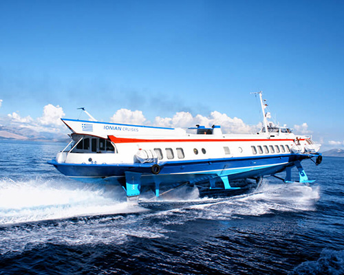 Passenger Hydrofoil Santa III -Ionian Seaways