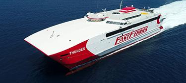 Highspeed Passenger - Ferry Thunder -Cyclades Fast Ferries