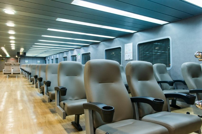 F/B Fast Ferries Andros Air Plane Type Seats