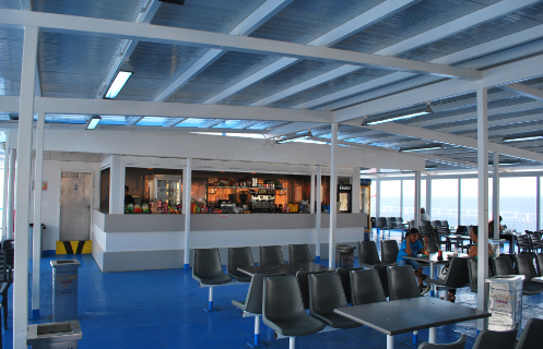 F/B Fast Ferries Andros Bar First Class
