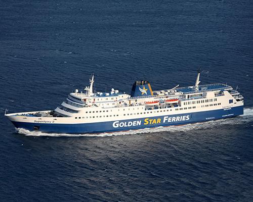 F/B Superferry II -Golden Star Ferries