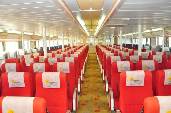 HSC Dodekanisos Express Economy Class Seats