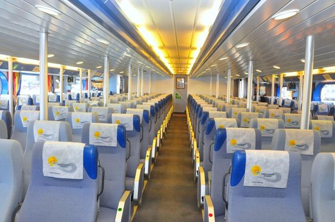 HSC Dodekanisos Pride Economy Class Air Type Seats