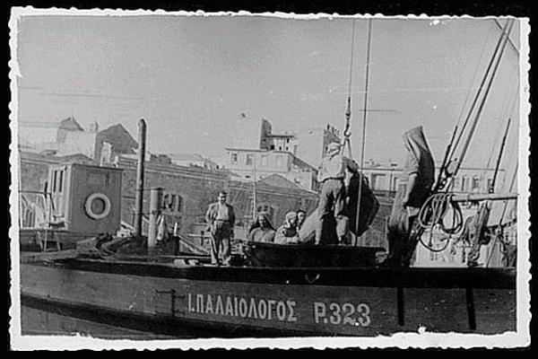 Paleologos Shipping company retro image