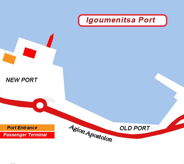 Minoan Lines                                                Ports