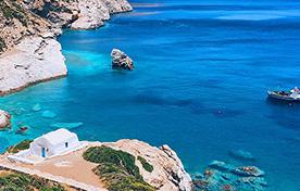 Amorgos - Donoussa - Koufonissi - Schinoussa - Iraklia - Naxos - Ios - Thira  - Small Cyclades Lines