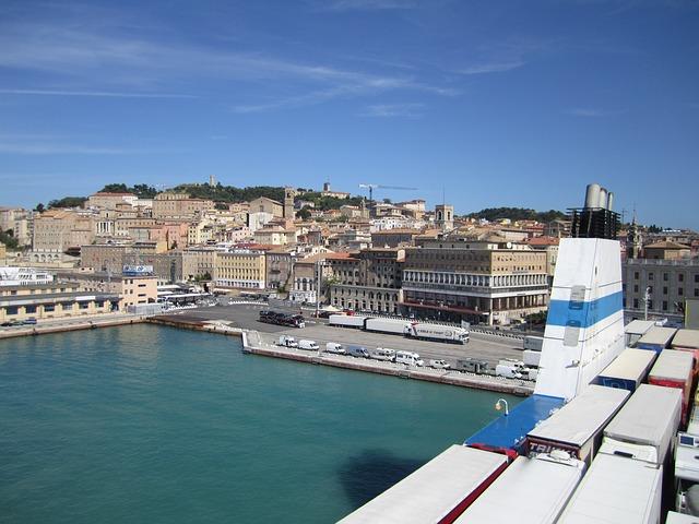Ancona to Greece (Corfu, Igoumenitsa, Patras)