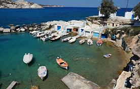 Lavrio - Kea - Kythnos - Syros - Paros - Naxos - Ios - Sikinos - Folegandros - Kimolos - Milos - Hellenic Seaways