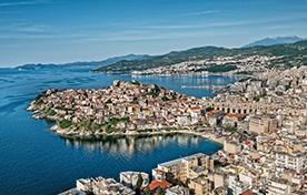Pireo - Syros - Mykonos - Samos - Chios - Lesbo - Lemnos - Kavala - Hellenic Seaways