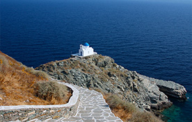 Pireo - Kythnos - Serifos - Sifnos - Milos - Kimolos - Folegandros - Sikinos - Ios - Santorini  - Zante Ferries
