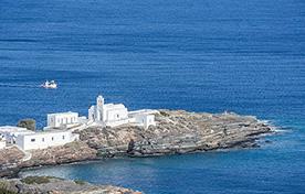 Piraeus - Sifnos - Milos - Santorini - Thirasia - Anafi - Sea Speed Ferries