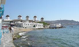 Rafina - Andros - Tinos - Mykonos - Naxos - Ios - Santorini - Golden Star Ferries