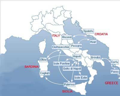Snav Ferries Italy-Greece-Italy, Italy-Croatia-Italy, Italy ...